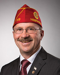 Mike Helm, National Commander of the American Legion